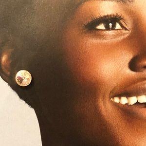 Jewelry - Plain chic sterling silver Strass rhinestone